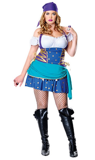Plus Size Gypsy Costume