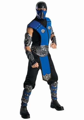 mortal kombat 9 characters costumes. Mortal Kombat Sub-Zero Costume