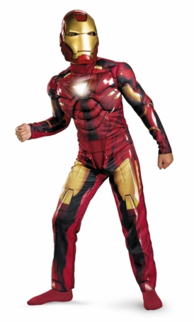 Iron Man 2 (2010) Movie - Mark VI Light-Up Deluxe Child Costume