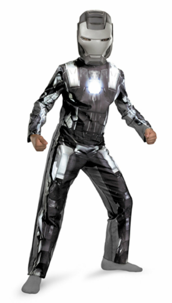 Iron Man 2 (2010) Movie - War Machine Classic Child Costume