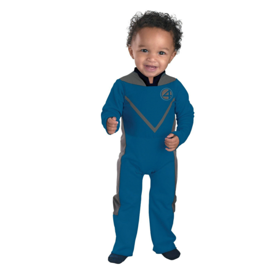 Fantastic 4 (Movie) - Mr. Fantastic Infant/Toddler Costume