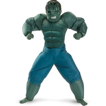 The Incredible Hulk 2008 Movie Inflatable Child Costume