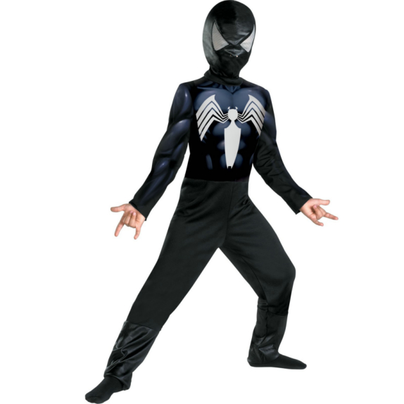 The Amazing Spider-Man Black-Suited Spider-Man Child Costume - Click Image to Close