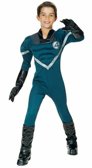 Fantastic Four - Mr. Fantastic Child Costume