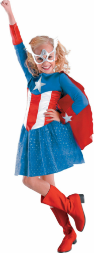 Captain America Girl Classic Toddler/Child Costume