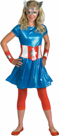 Captain America Girl Child/Teen Costume