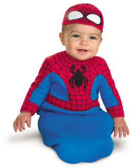 Spider-Man Bunting Infant Costume