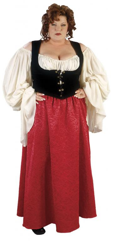 Merchants Wife Plus Size Adult Costume