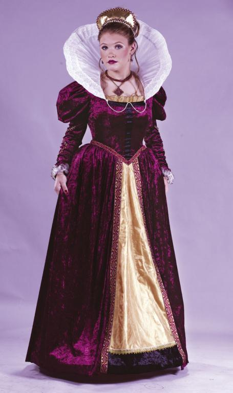 Elizabethan Queen Adult Costume