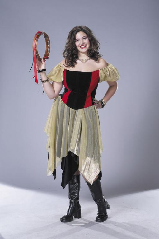 Gypsy Plus Size Adult Costume