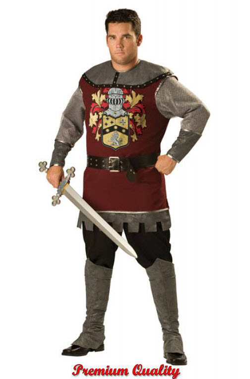 Loyal Knight Plus Size Costume