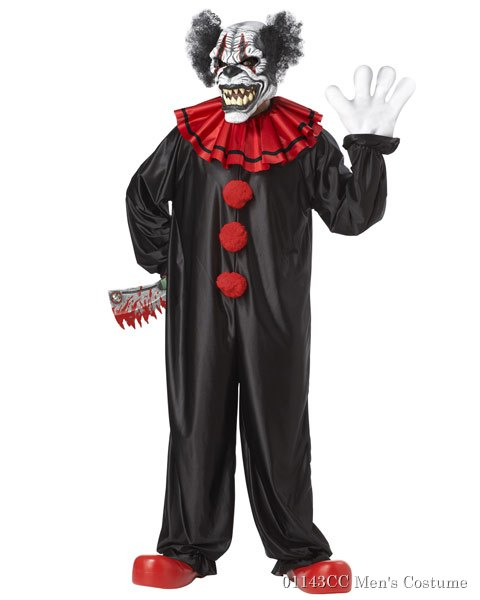 Last Laugh The Clown Mens Costume