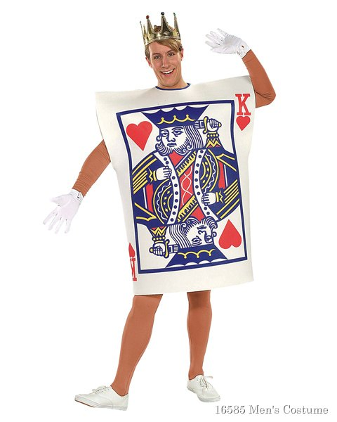 King Of Hearts Costume For Adults