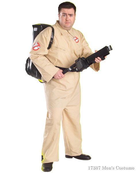 Ghostbusters Plus Size Costume For Men