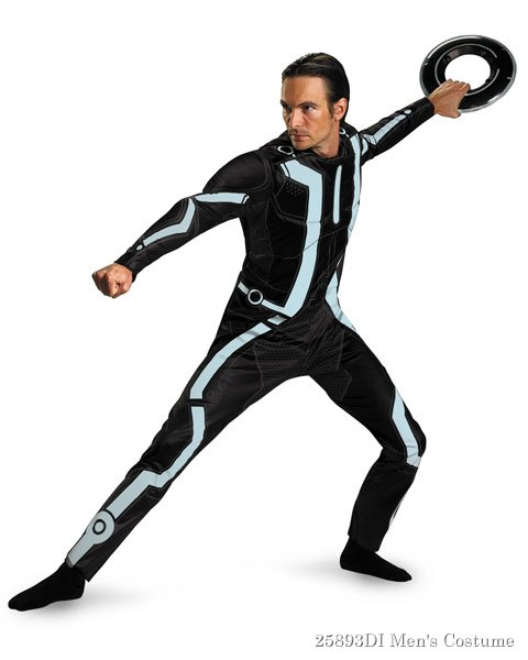 Deluxe Tron Legacy Mens Costume