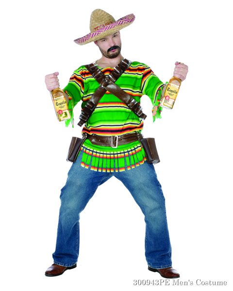 Tequila Popn Dude Costume For Adults