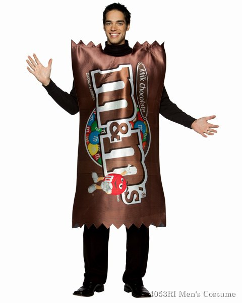 M And M Plain Wrapper Mens Costume