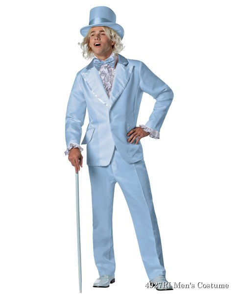 Dumb and Dumber Harry Blue Tuxedo Adult Costume