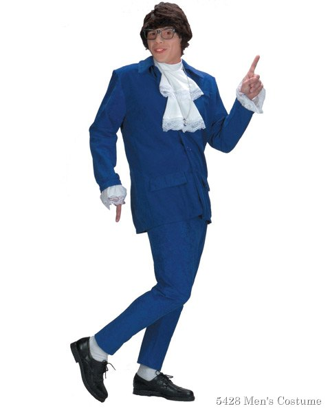 Deluxe Austin Powers Costume For Adult