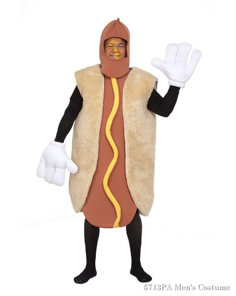 Deluxe Hot Dog Adult Unisex Costume