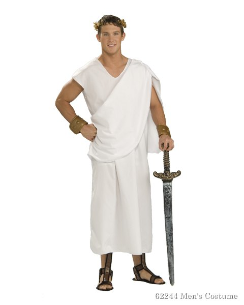 Toga Plus Size Costume For Adults