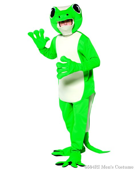 Gecko Costume For Adults