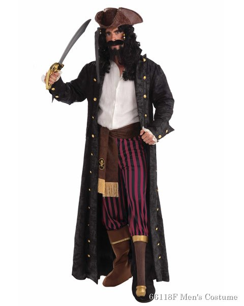 Peg Leg Pirate Mens Costume