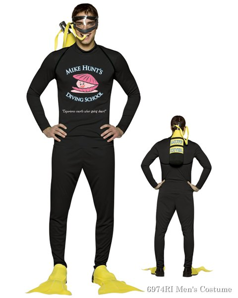 Muff Diver Costume For Adult