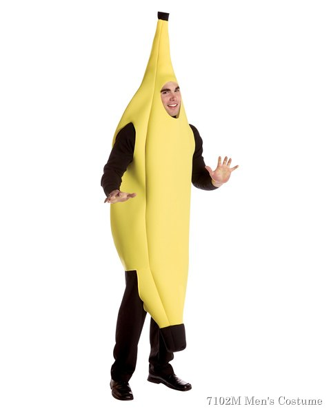Banana Humorous Costume For Adults