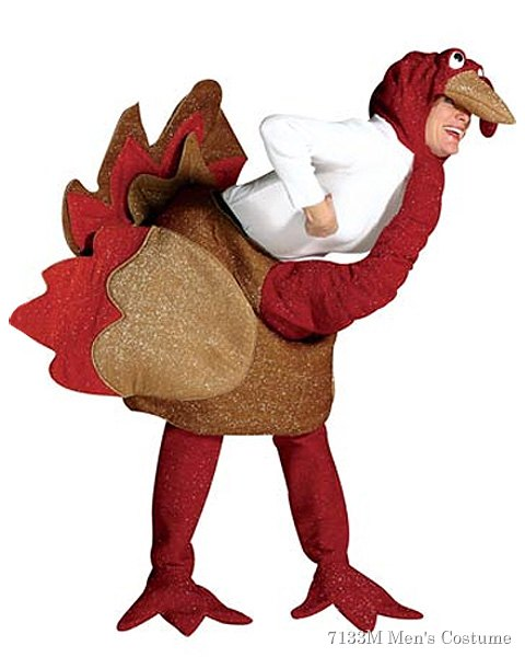 Turkey Costume For Adults