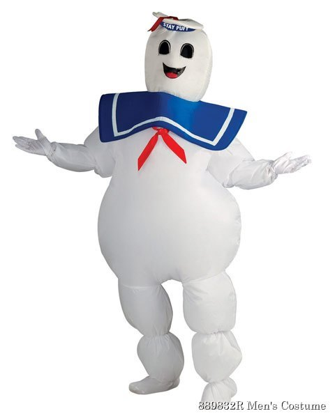 Ghostbusters Inflatable Stay Puft Mens Costume