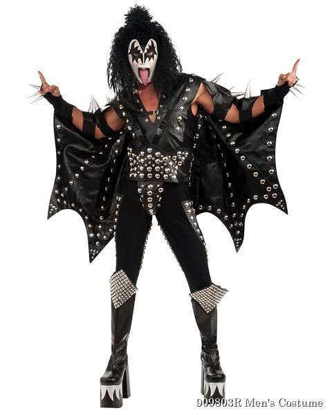 Collector KISS Demon Mens Costume