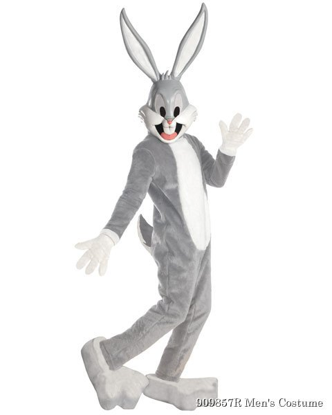 Unisex Supreme Edition Bugs Bunny Mascot Adult Costume