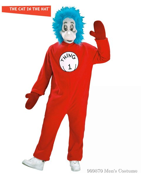 Thing 1 Costume for Adult