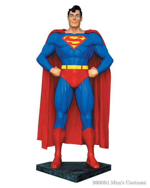 Superman Life Size Statue