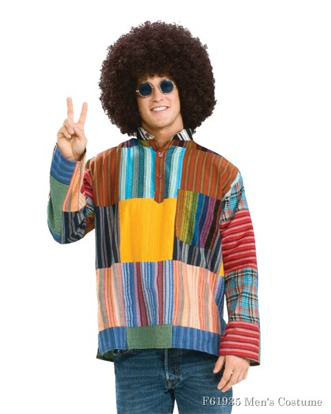 Adult Patchwork Shirt Costume