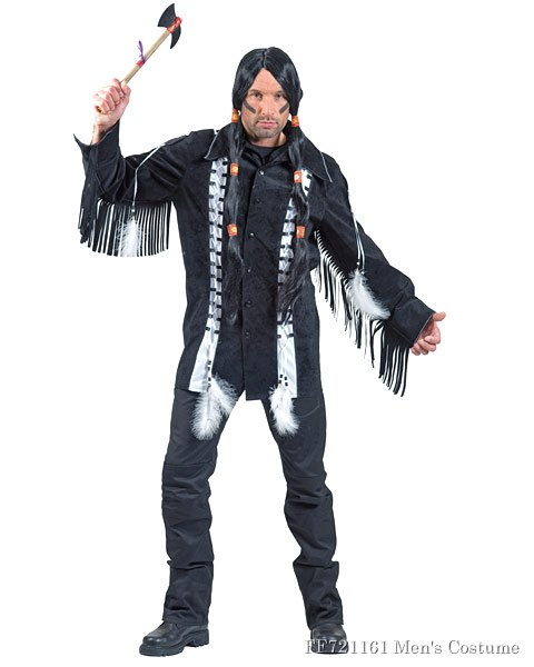 Black Hawk Brave Mens Costume