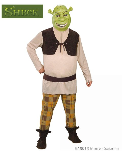 Shrek Costume For Adults