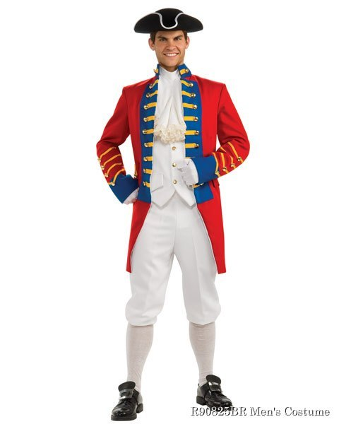 Regency Collection British Redcoat Mens Costume