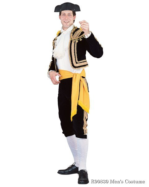 Regency Collection Toreador Man Mens Costume