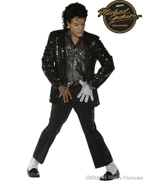 Adult Michael Jackson, Billie Jean Costume