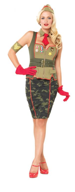 Military Pinup Costume