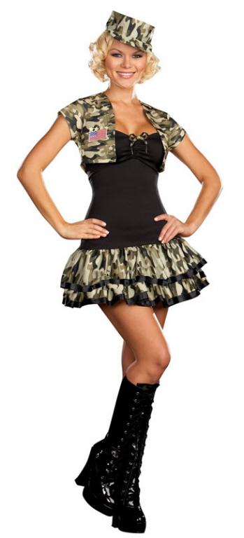 Soldier Girl Costume