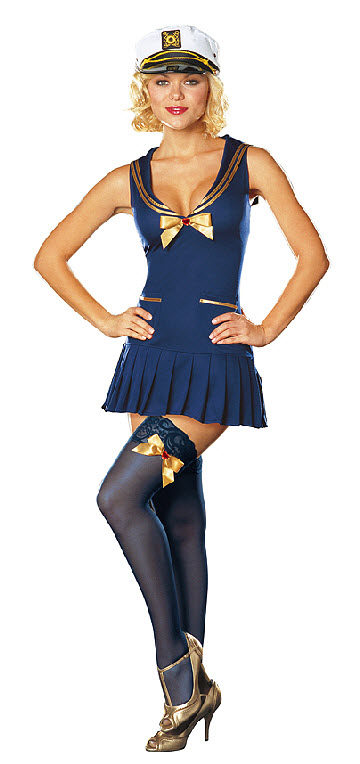 Seaside Pinup Costume