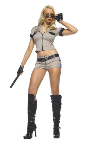 Strip Search Sheriff Adult Costume