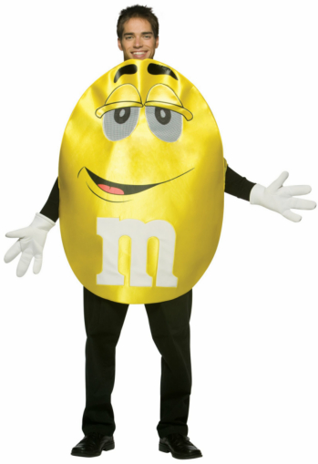 M&Ms Yellow Deluxe Teen Costume