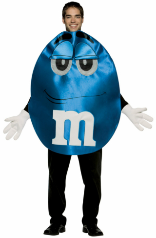 M&Ms Blue Deluxe Teen Costume