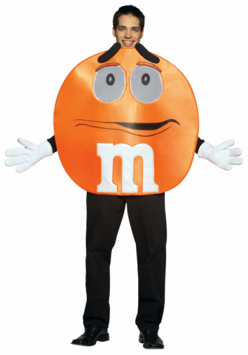 M&Ms Orange Deluxe Teen Costume