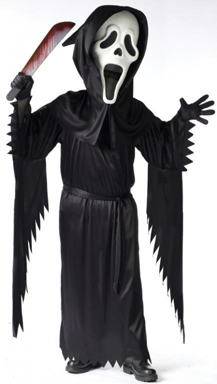 Bobble Head Ghost Face Child Costume