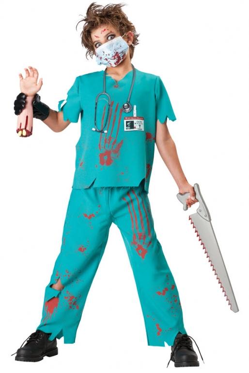 Костюм на хэллоуин врач
